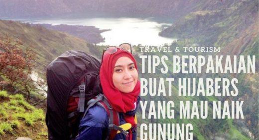 hijabers naik gunung